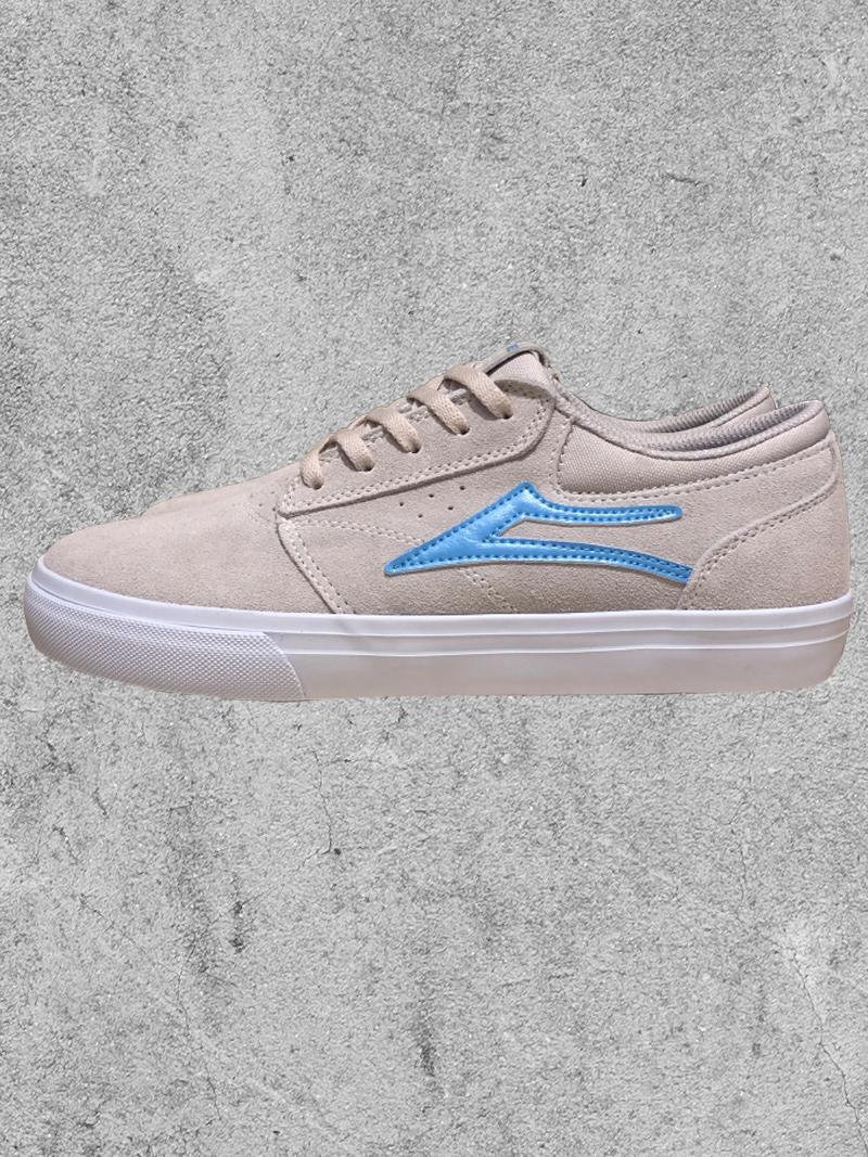 LAKAI FOOTWEAR LAKAI GRIFFIN - WHITE/BLUE