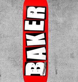 """BAKER SKATEBOARDS BAKER BRAND LOGO 8.38"""" DECK"""