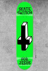 "ROGER SKATEBOARDS ROGER SKATE SWITCH 8.38"" DECK"