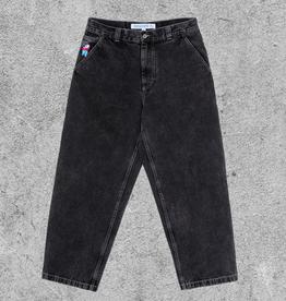 POLAR SKATE CO POLAR BIG BOY WORK PANTS - WASHED BLACK