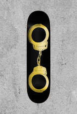 """REAL SKATEBOARDS REAL BUSENITZ GOLD CUFFS 8.5"""" DECK"""