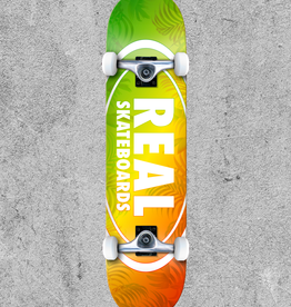 """REAL SKATEBOARDS REAL ISLAND OVAL 7.75"""" COMPLETE"""