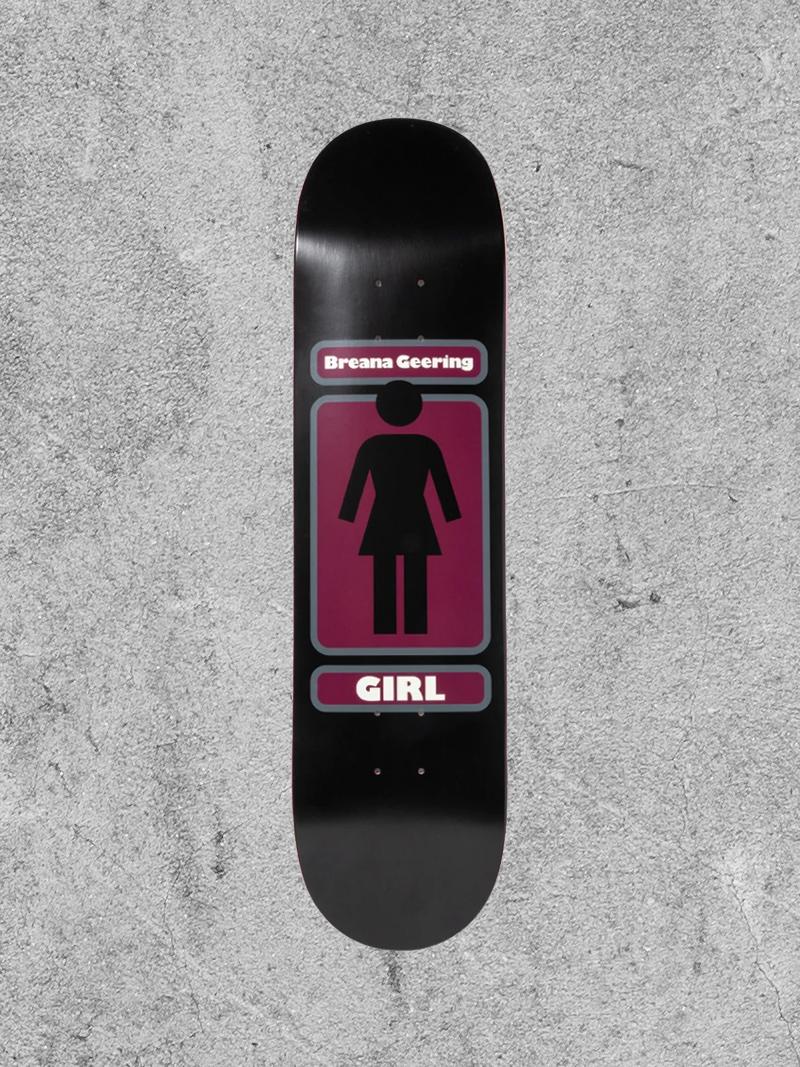 """GIRL SKATEBOARDS GIRL GEERING 93 TIL 8.25"""" DECK"""