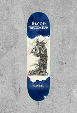 "BLOOD WIZARD SKATEBOARDS BLOOD WIZARD GIVEN NEADERWOLF OCCULT 8.3"" DECK"