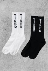 TIRED SKATEBOARDS TIRED SOCKS 2-PACK