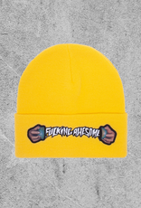 FA ENTERTAINMENT FUCKING AWESOME WORLD CUP BEANIE - DAISY