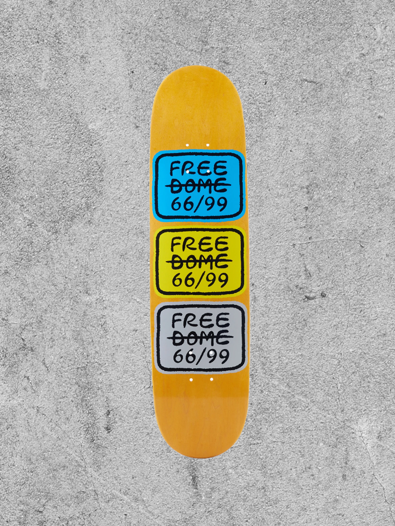 """FREE DOME FREE DOME STACKED 8.0"""" DECK"""