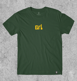 GIRL SKATEBOARDS GIRL PICTOGRAPH TEE - GREEN