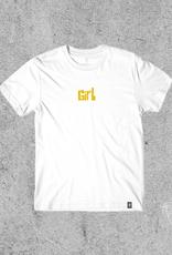 GIRL SKATEBOARDS GIRL PICTOGRAPH TEE - WHITE