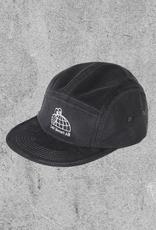 LAST RESORT LAST RESORT HALF GLOBE CORD 5-PANEL HAT - GREY