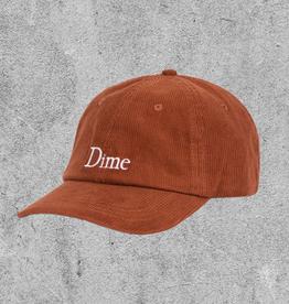 DIME DIME CLASSIC CORDUROY CAP - BURNT ORANGE