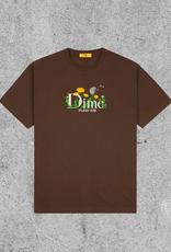 DIME DIME ALLERGIES TEE - BROWN