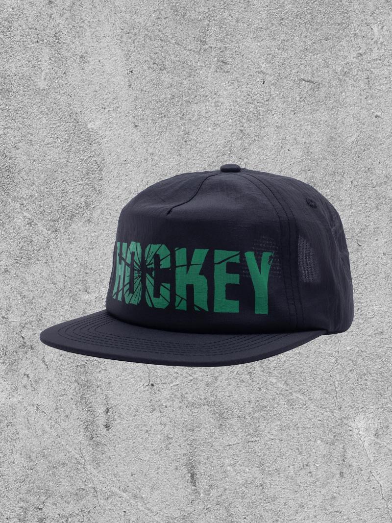 HOCKEY HOCKEY SHATTER 6-PANEL HAT - BLACK