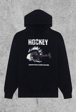 HOCKEY HOCKEY BREAKFAST INSANITY HOODIE - BLACK