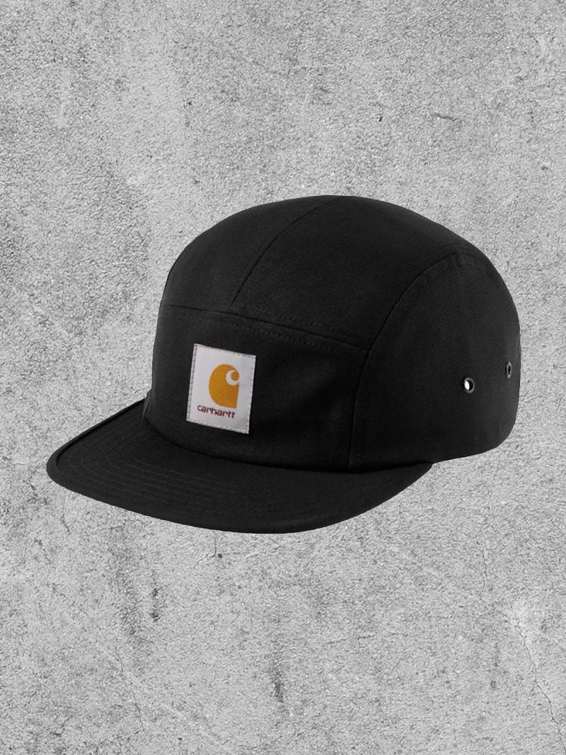 CARHARTT WIP CARHARTT WIP BACKLEY CAP - BLACK