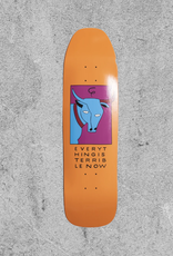 """TIRED SKATEBOARDS TIRED TERRIBLE STUMPNOSE 9"""" DECK"""