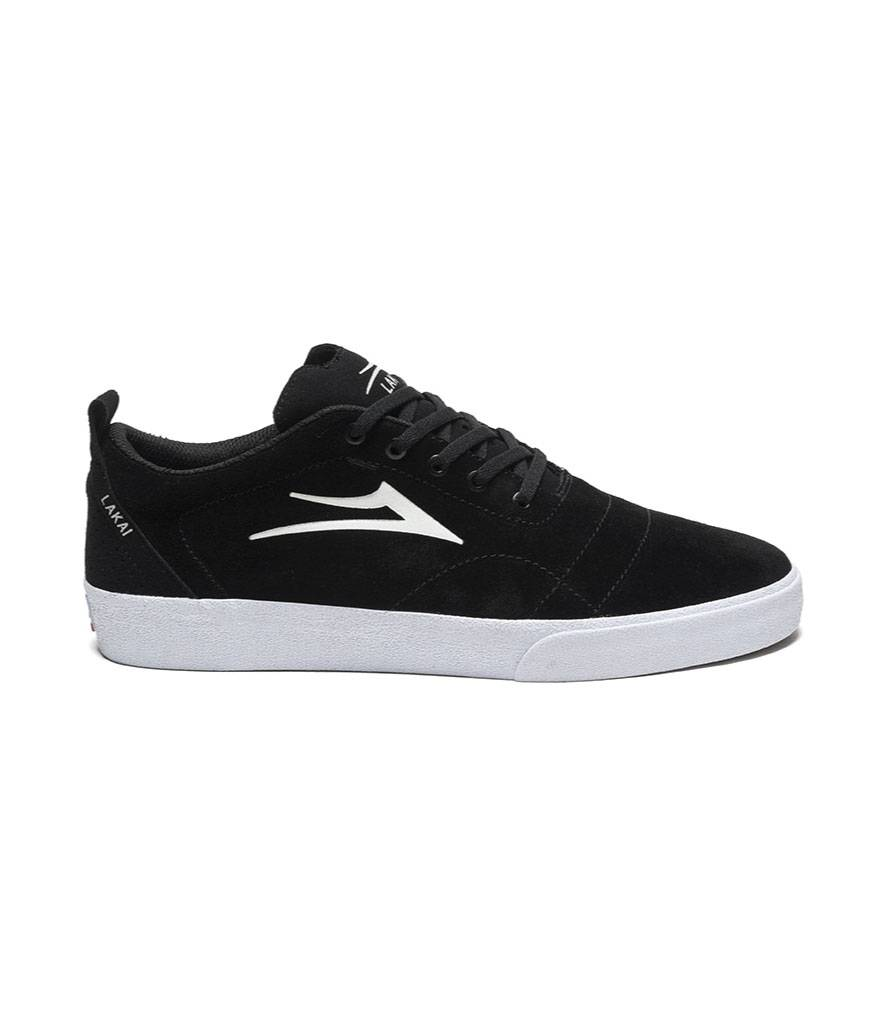 LAKAI FOOTWEAR LAKAI BRISTOL - BLACK/WHITE