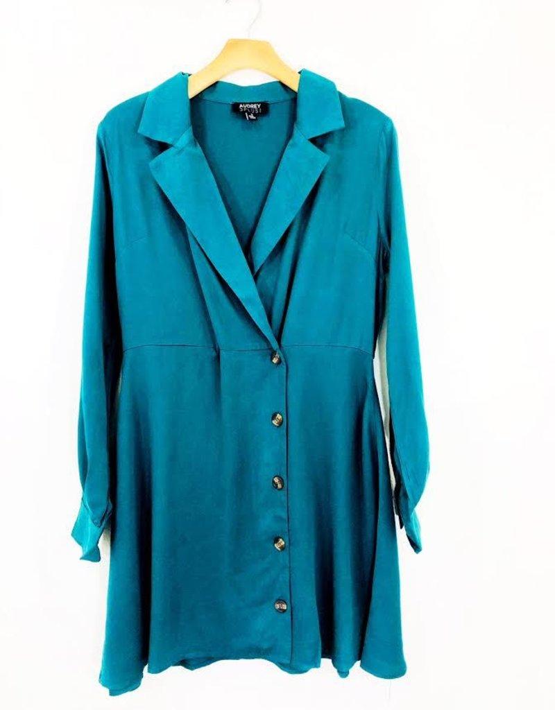 Audrey 3+1 Audrey 3+1 Classic Blazer Button Dress