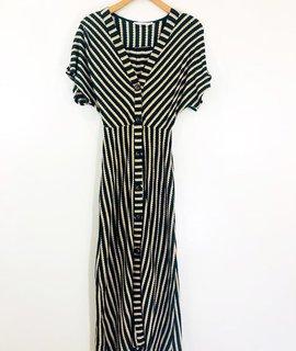Lush Clothing Lush Striped Button Down Dress
