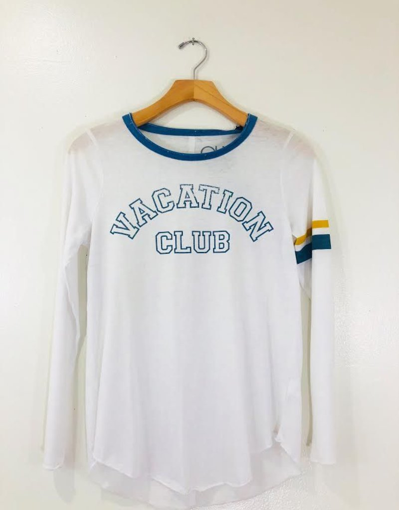 Chaser Brand Chaser Vacation Club Vintage Long Sleeve Jersey