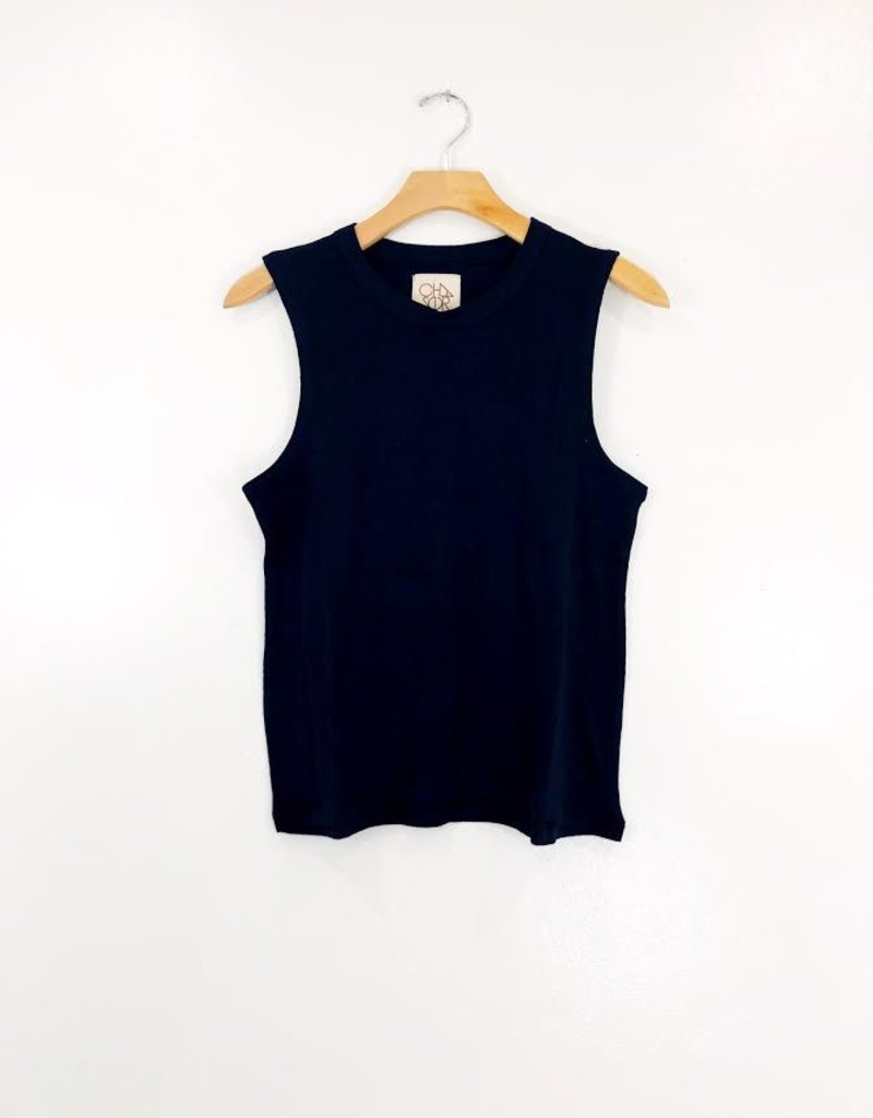 Chaser Brand Chaser Hi Lo Cotton Muscle Tank