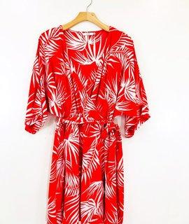 Lush Clothing Lush Sasha Wrap Dress