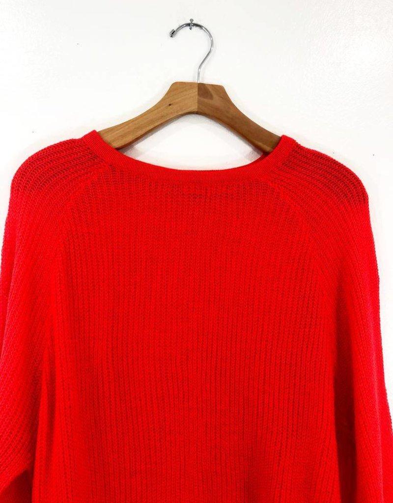 Lush Clothing Lush Cheerful Sheer Sweater
