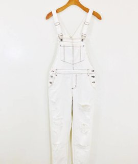 Wild Honey Wild Honey Winter White Overalls