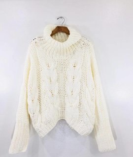 POL Clothing Breckenridge Knit Sweater