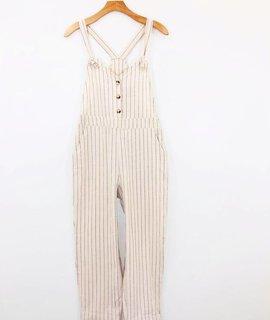 Lush Clothing Lush Lover Girl Linen Overall
