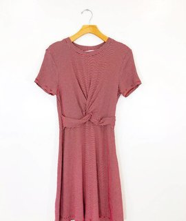 Lush Clothing Lush Monaco Tie Front Dress