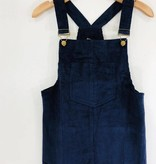 Audrey 3+1 Audrey 3+1 Cord Overall Dress