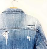 Hidden Hidden Oversized Distressed Jacket