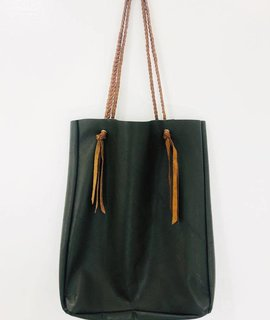 Wild Wanderer Design Wild Wanderer Design Large Olive Tote