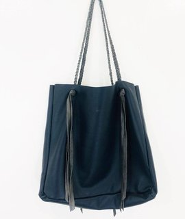 Wild Wanderer Design Wild Wanderer Design Medium Navy Tote