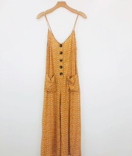 Lush Clothing Lush Golden Days Jumpsuit