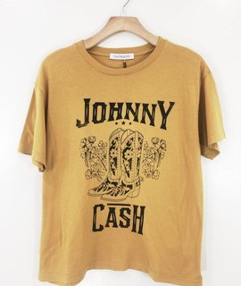 Daydreamer Daydreamer Johnny Cash Boyfriend Tee