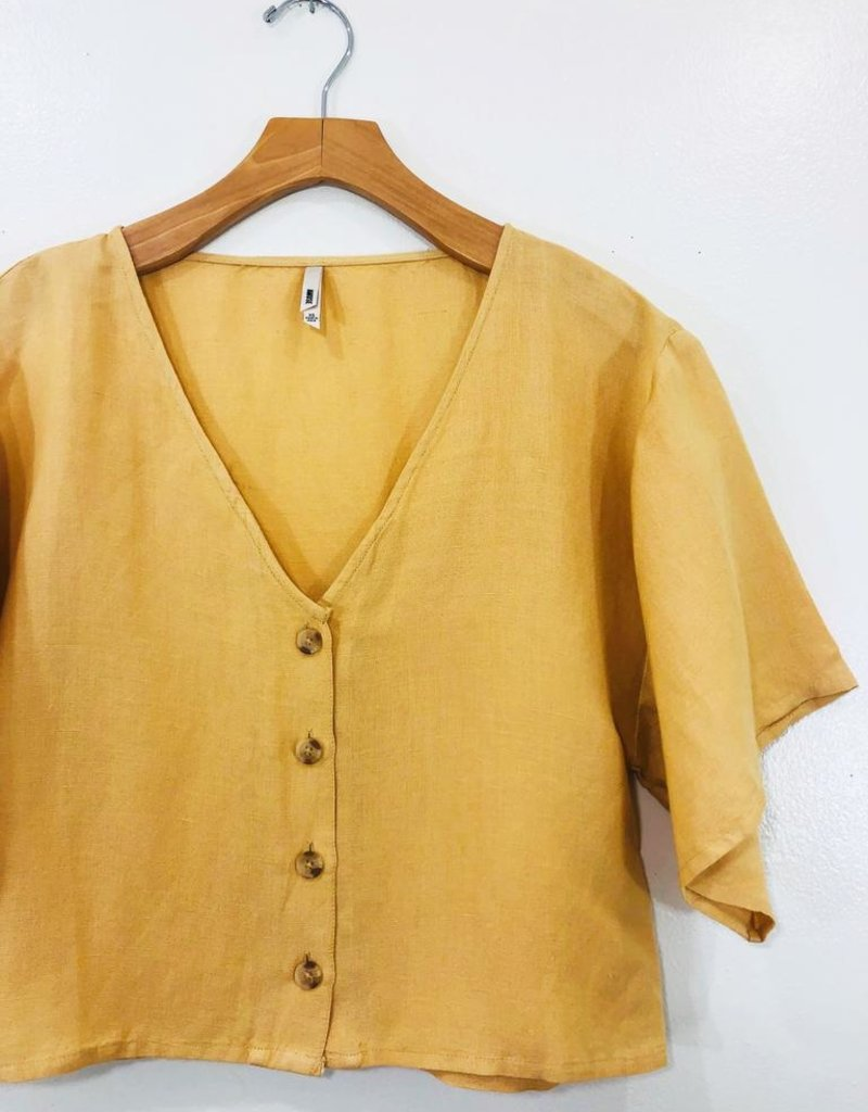 Amuse Society Amuse Society Bungalow Woven Top