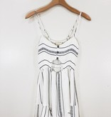 Saltwater Luxe Saltwater Luxe Button Front Romper
