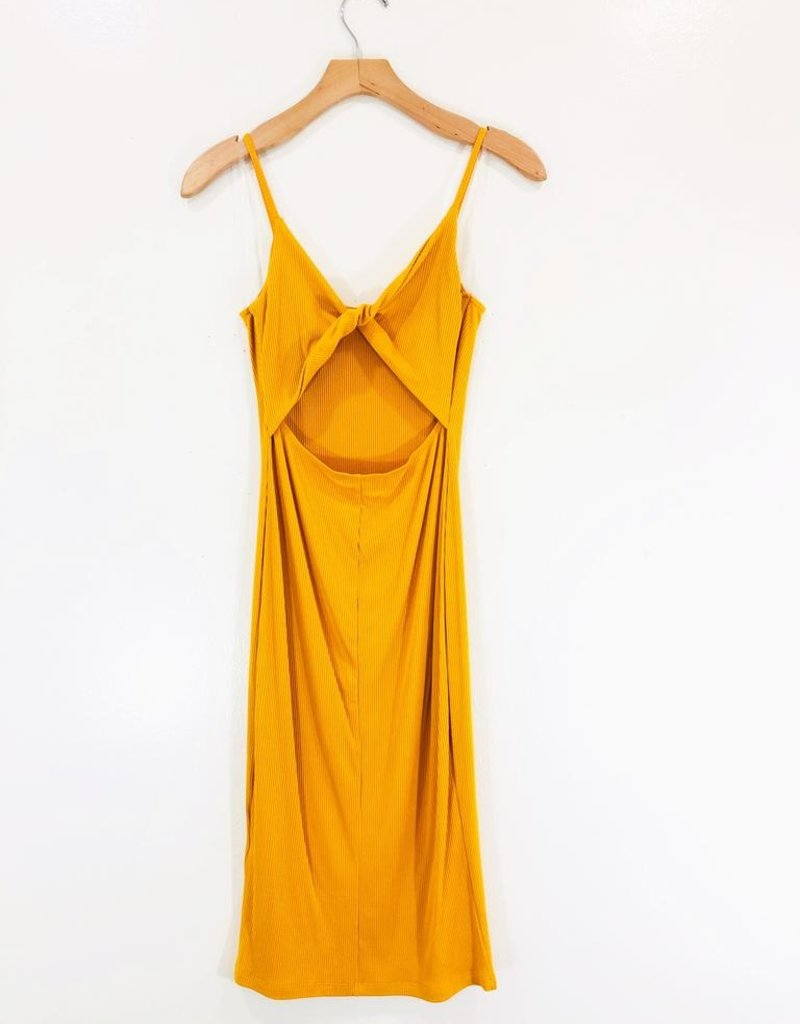 Lush Clothing Lush Sunflower Midi Dress