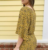 Audrey 3+1 Audrey 3+1 Leopard Tulip Romper