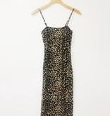 Audrey 3+1 Audrey 3+1 Leopard Midi Dress