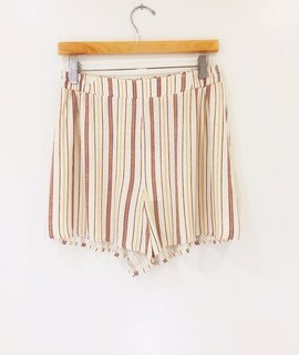 Lush Clothing Lush Flirty Striped Tunic Shorts