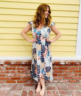 Saltwater Luxe Saltwater Luxe Alpine Maxi Dress