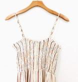 Lush Clothing Lush Button Ruched Mini Dress