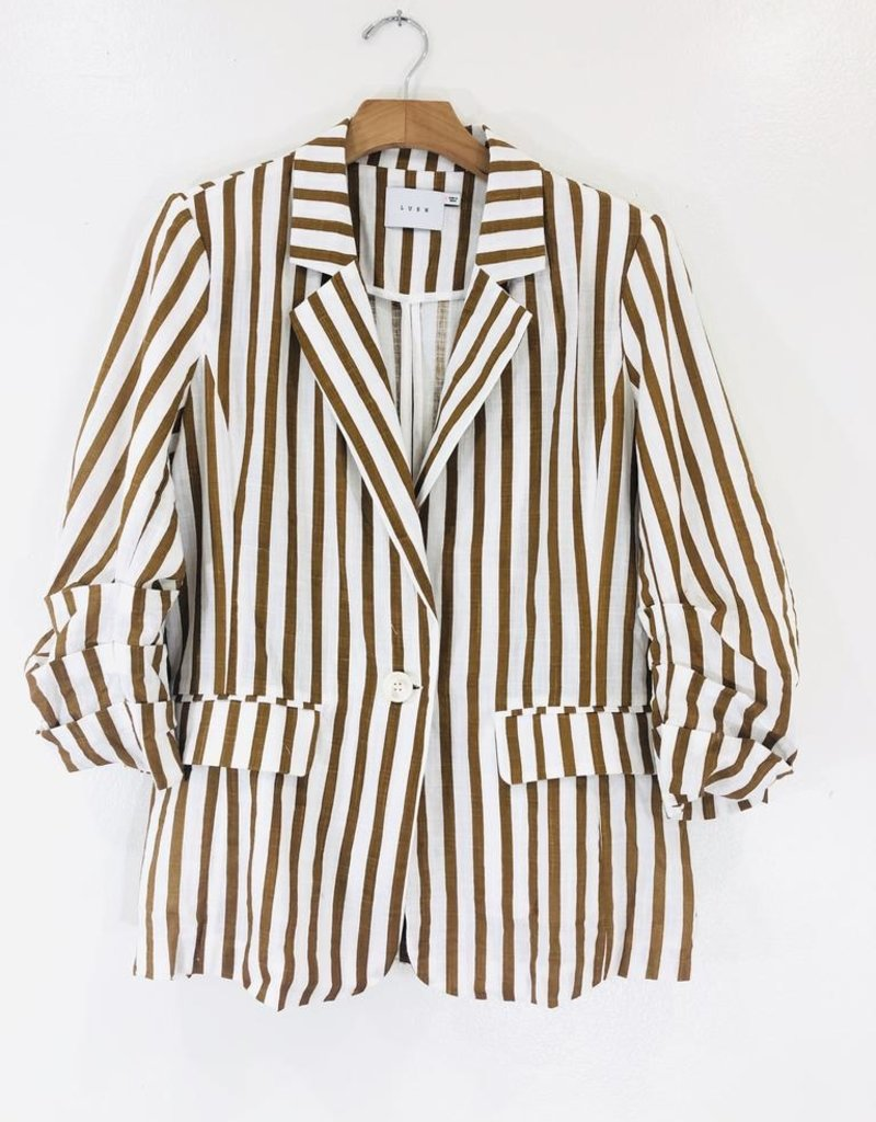 Lush Clothing Lush Quarter Sleeve Blazer