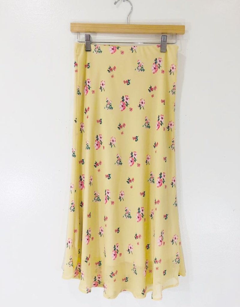 Audrey 3+1 Audrey 3+1 Meredith Floral Midi Skirt
