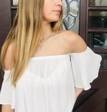Audrey 3+1 Audrey 3+1 Easy Breezy Off The Shoulder Top