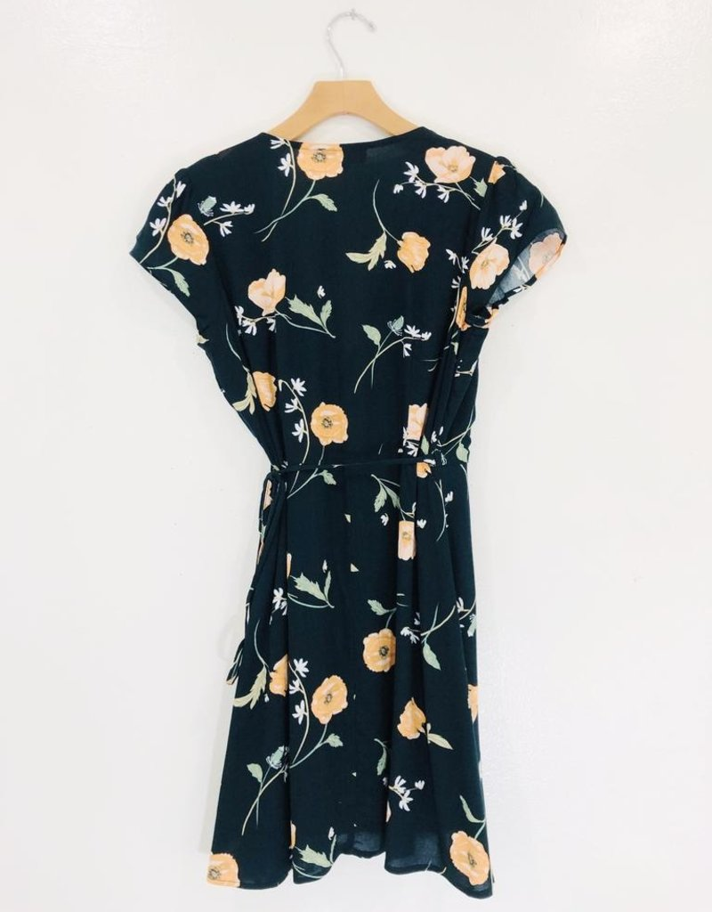 Audrey 3+1 Audrey 3+1 Dreamy Nights Wrap Dress