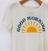 Chaser Brand Chaser Good Morning Crew Neck Tee